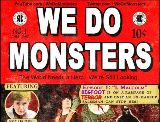 "Check out ""We Do Monsters"".  It couldn't ""B"" any more entertaining!"