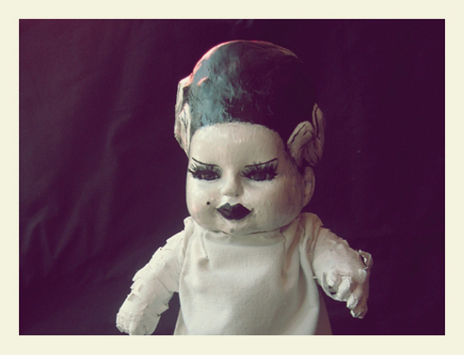Decadence Dolls- Handcarved Horror Dolls